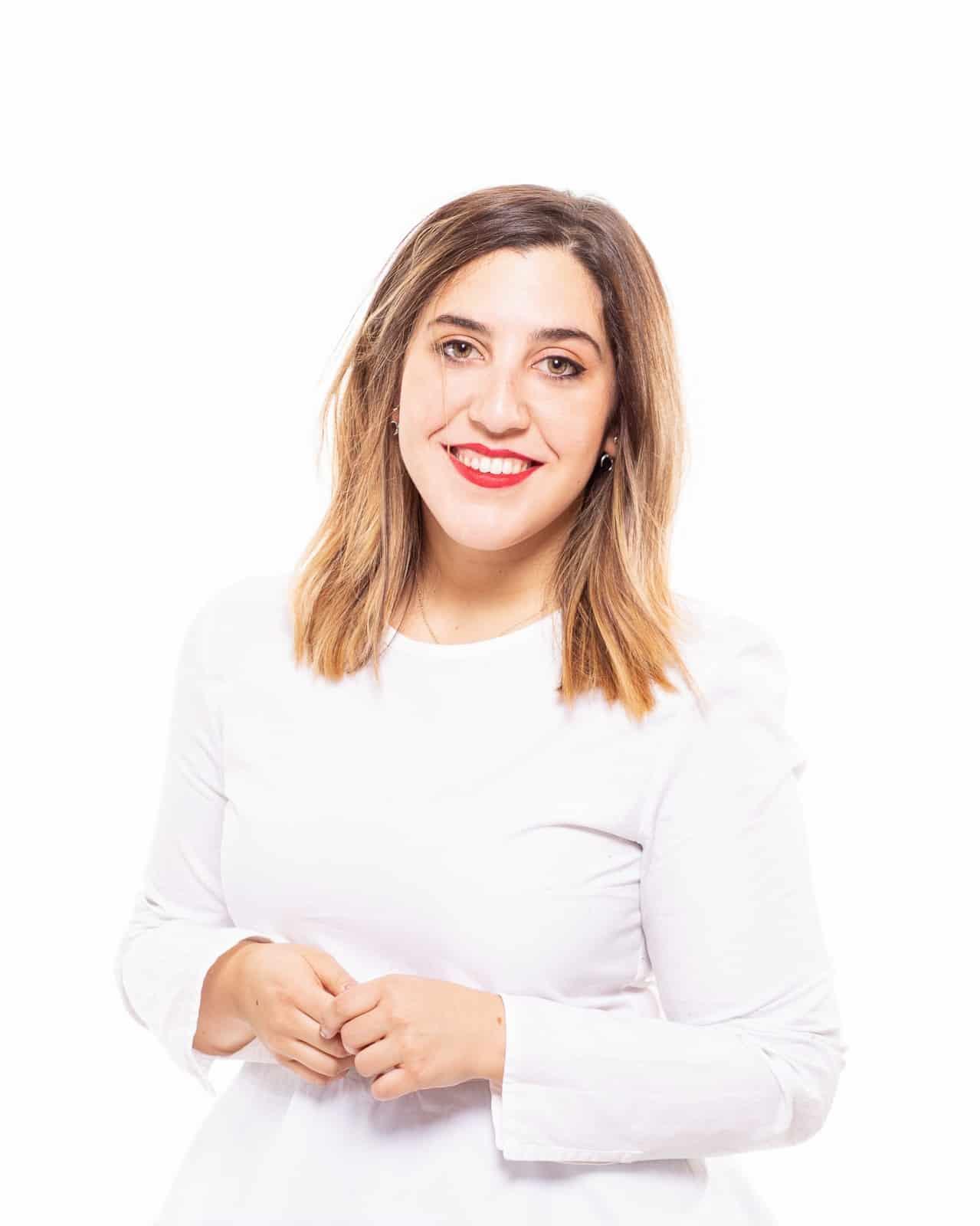 Alejandra Barreda psicóloga en centro Iratxe López