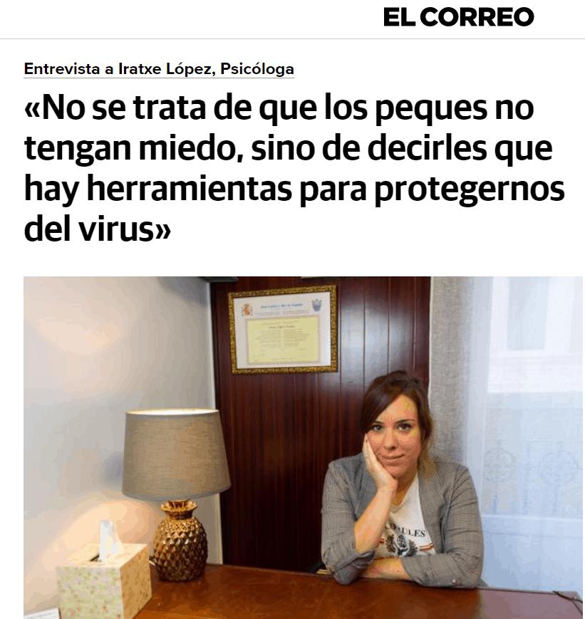 medios de Iratxe López Psicología